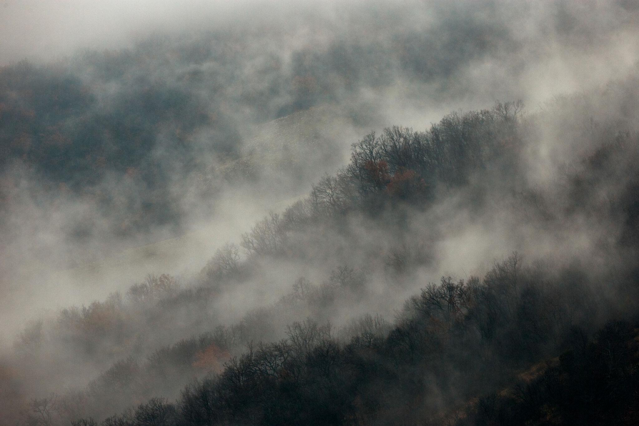Bulharské ráno v Rodopech. Foto: Petr Salinger